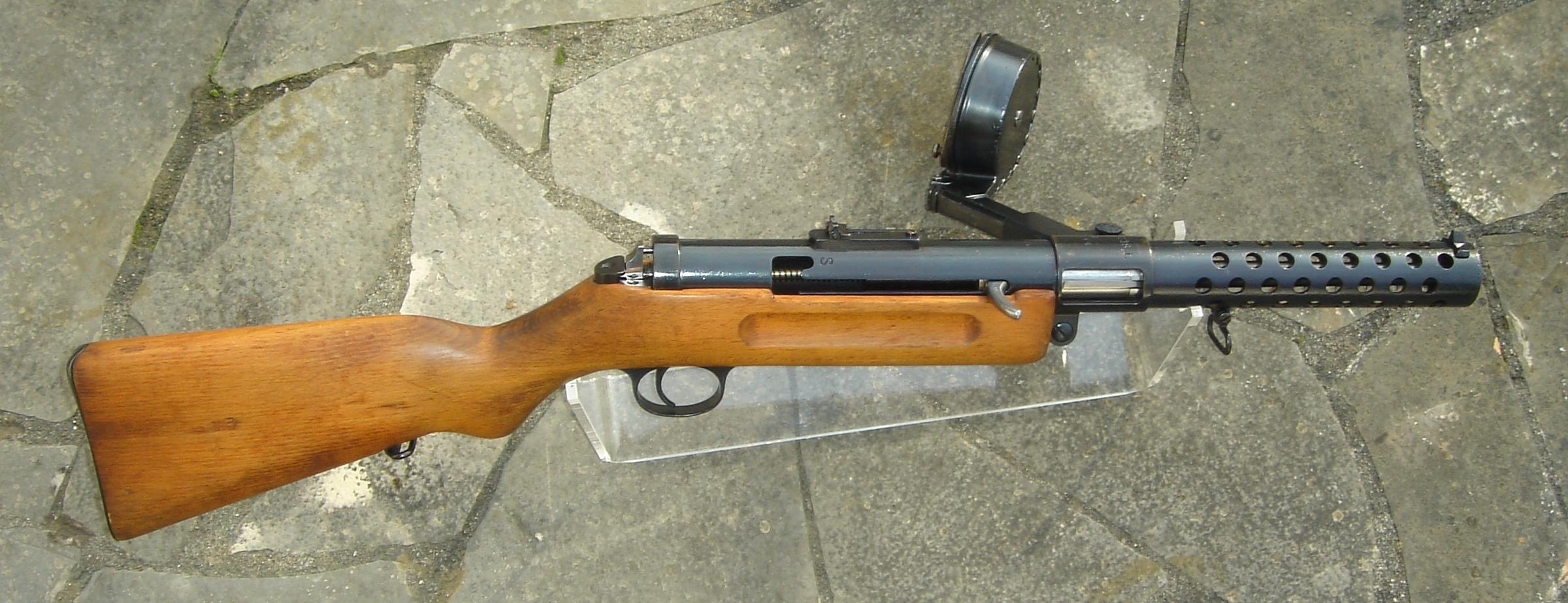 ww1 sub machine gun
